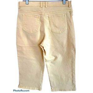 Gloria Vanderbilt Amanda Crop Capri Denim Jeans 12